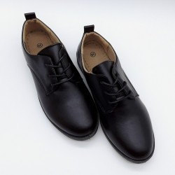 Leather like oxford shoes