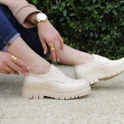 Oxford style shoes