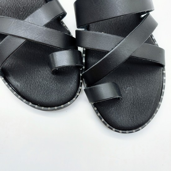 Anatomic cross slippers
