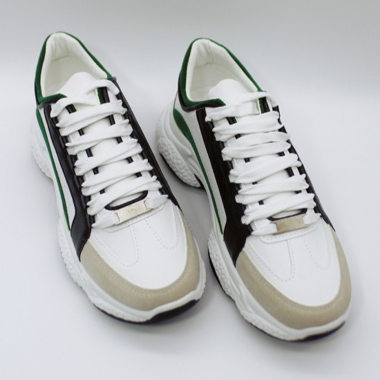 Leather like sneakers