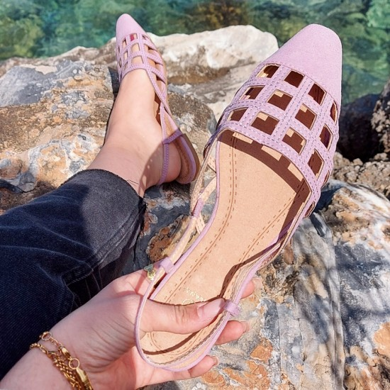 Mules with strap