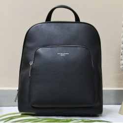 Backpack with two storage spaces