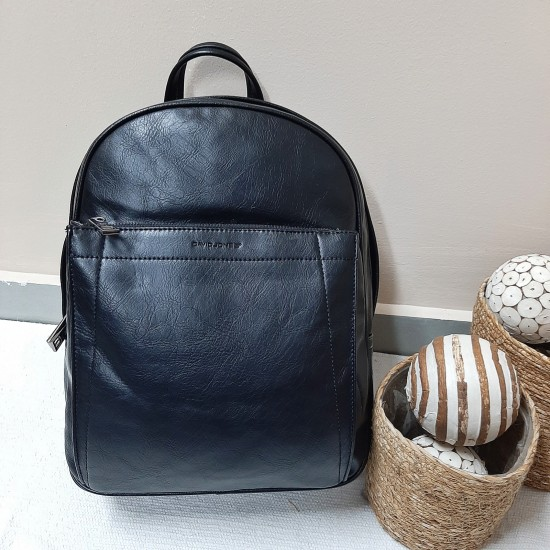 Large backpack with two pockets